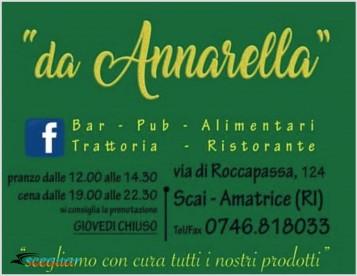 Bar Birreria Ristorante Da Annarella