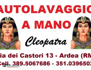 Ahmed Autolavaggio Cleopatra