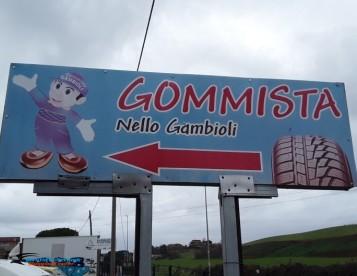 Gommista Nello Gambioli