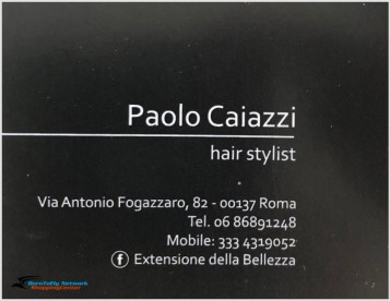 Paolo Caiazzi Hair Stylist