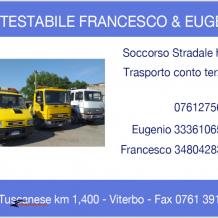 Soccorso stradale H24 Contestabile Eugenio & Francesco