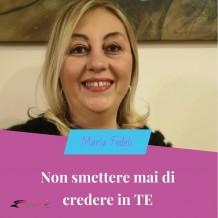 Maria Fedeli Networker Lavoro da casa