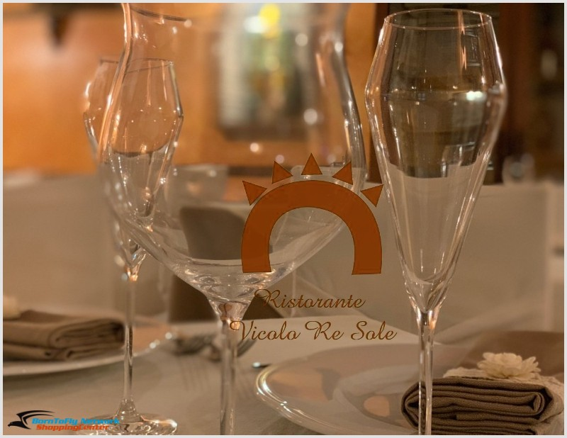 Ristorante Re Sole Per gli Associati Born To Fly:  Sconto 10%